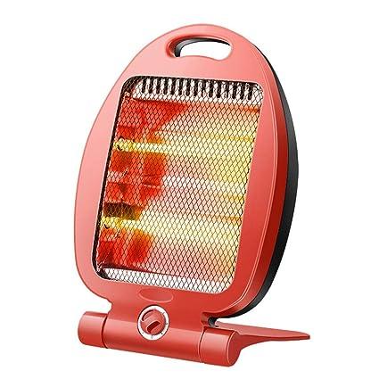 Calentador eléctrico 600W Mini Ventilador Calentador Calefactor Estufa radiador Handy Calentador habitación Calentador de Invierno para