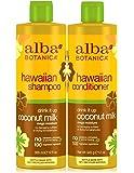 Alba Botanica Hawaiian Conditioner Coconut Milk, 12 oz (Pack of 2