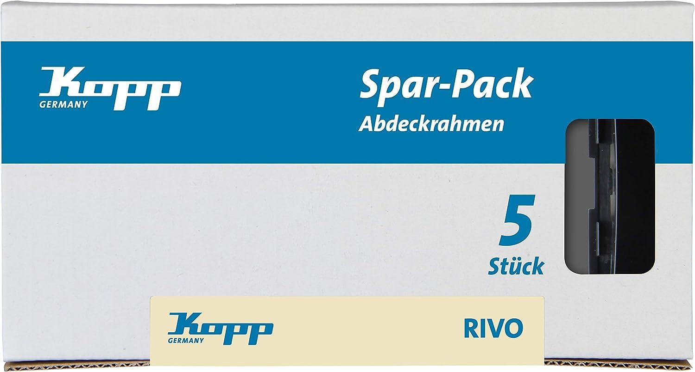 color gris Kopp 585615082 Interruptor universal 10 AX, 250 V