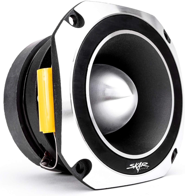 Skar Audio VX4-ST 4-Inch 600 Watt High Compression Titanium Bullet Super Tweeter, Each
