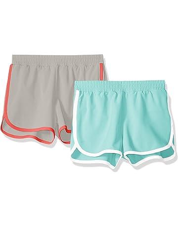 6a0fddb855 Amazon Essentials Girls' 2-Pack Active Running Short