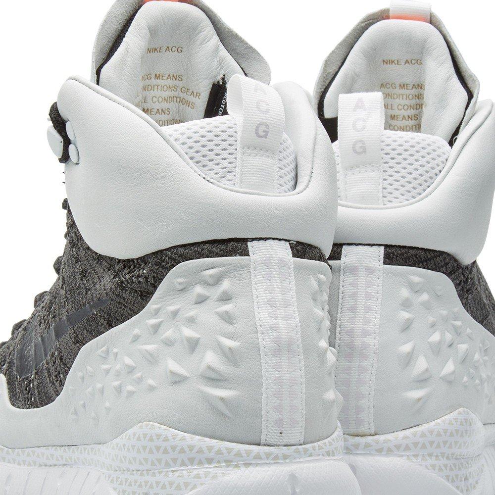 buy popular 704a9 1b233 Amazon.com   Nike Mens NikeLab Lupinek Flyknit ACG High Tops Boots 826077  (8, Black Black-Anthracite)   Fashion Sneakers