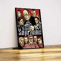 Javvuz - The Sopranos - Metal Poster