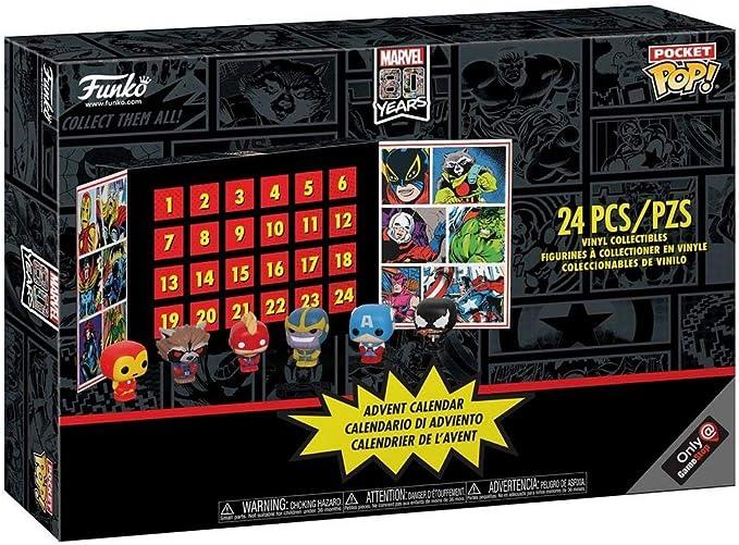 POP! Calendario de Adviento: Marvel 80 Years GameStop Exclusivo ...