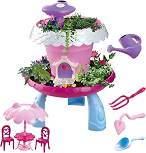 GILOBABY My Happy Garden, DIY Assembly Outdoor Garden Toys for Kids, Grow Your Own Garden, Gift for Girls & Boys
