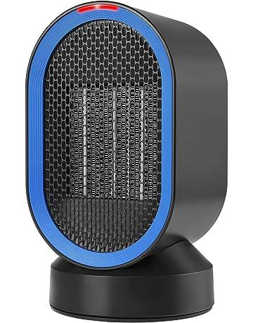 COMLIFE Calefactor Eléctrico Cerámico Oscilación Automática Viento Caliente y Natural Calentador Portátil para el hogar y