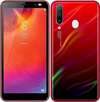 Móviles y Smartphones Libres, Android GO Teléfono Móvil Libre (MTK6572, 5.0 Pantalla HD LCD, 1GB RAM+4GB ROM, 5.0MP Cámaras, Dual SIM) (A60 Rojo): Amazon.es: Electrónica