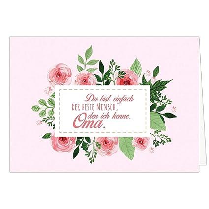 Grandes XXL (DIN A4) tarjeta para abuela con sobres/el mejor ...