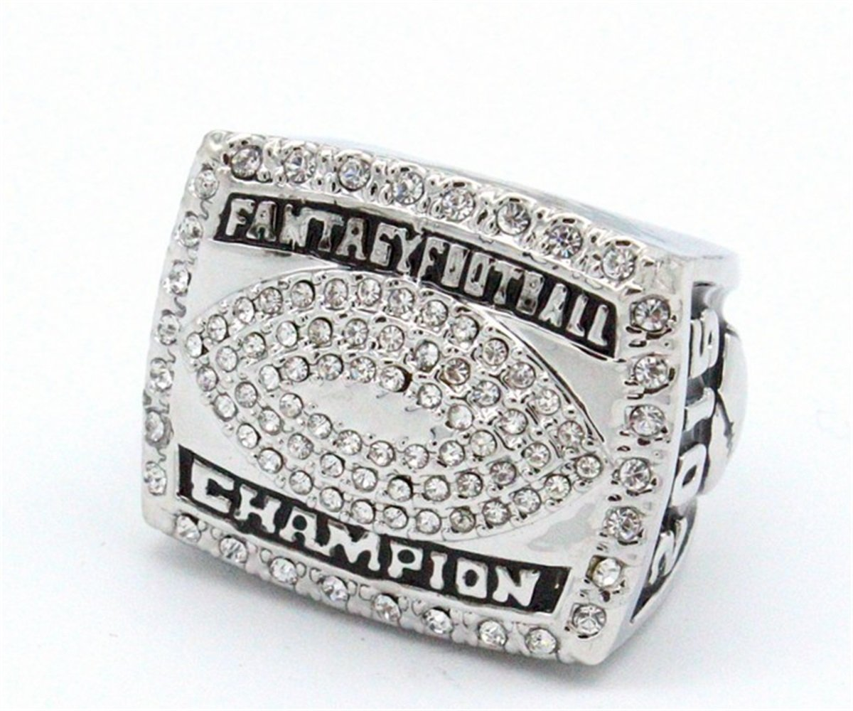 TYSping Fantasy Football 2011-2017 Championship Ring Trophy Prize (2015)