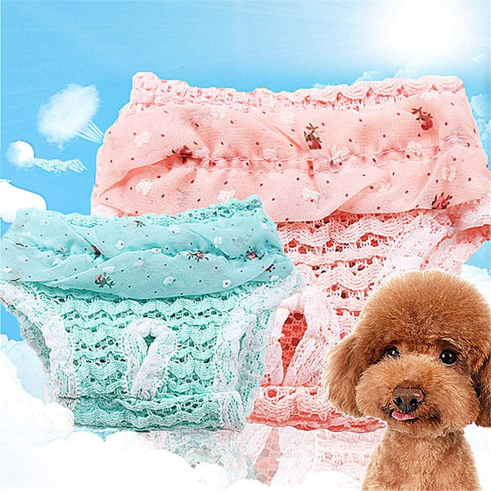 ZUOLUO Dog Nappies Dog Pants For Bitchs In Season Dog Nappy Male Dogs Nappies Dog Diapers Dog Pants For Bitchs In Season Male Dog Nappies Dog Nappies Male pink,m