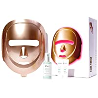 ECO FACE Near-infrared LED Mask for Home Facial LED Therapy | with Brightening Serum...