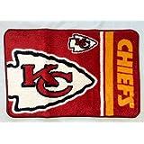 Northwest NFL Kansas City Chiefs Round Edge Bath Rug 20