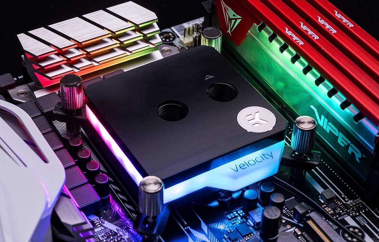 Digital RGB EKWB EK-Velocity CPU Waterblock Nickel//Acetal Intel CPU
