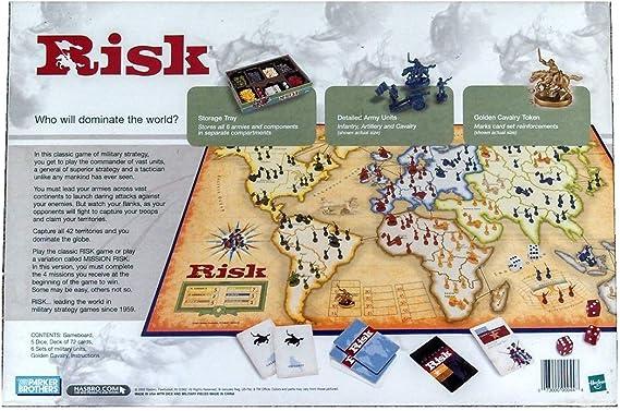 Risk: The Game of Global Domination (2003) by Hasbro: Amazon.es: Juguetes y juegos