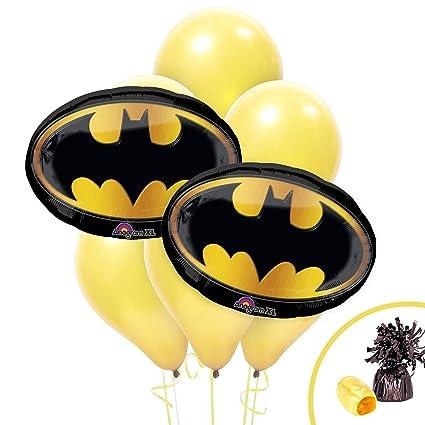 Amazon.com: Logo de Batman Jumbo ramo de globos: Toys & Games