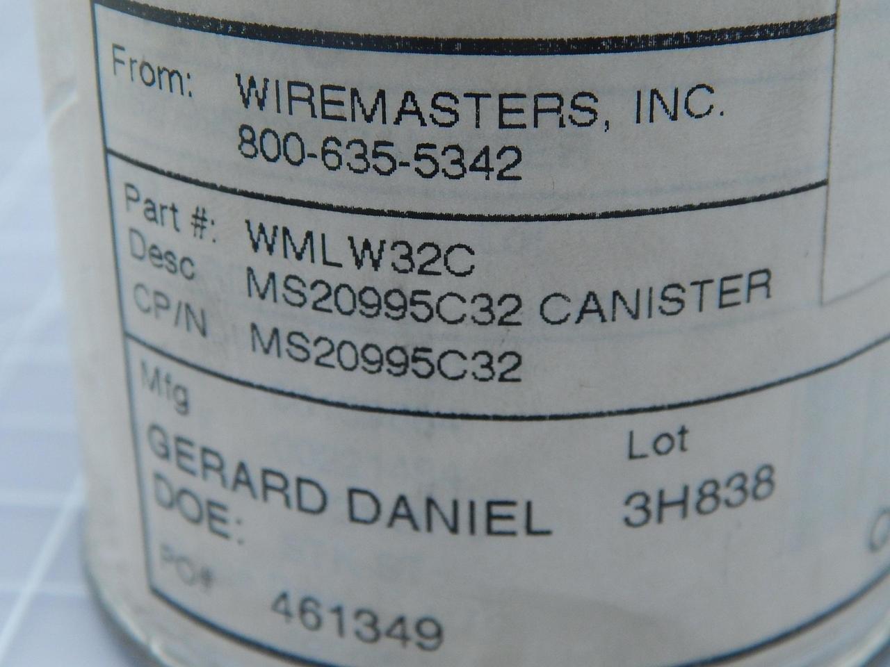 Wiremasters WMLW32C Wire T108414: Amazon.com: Industrial & Scientific
