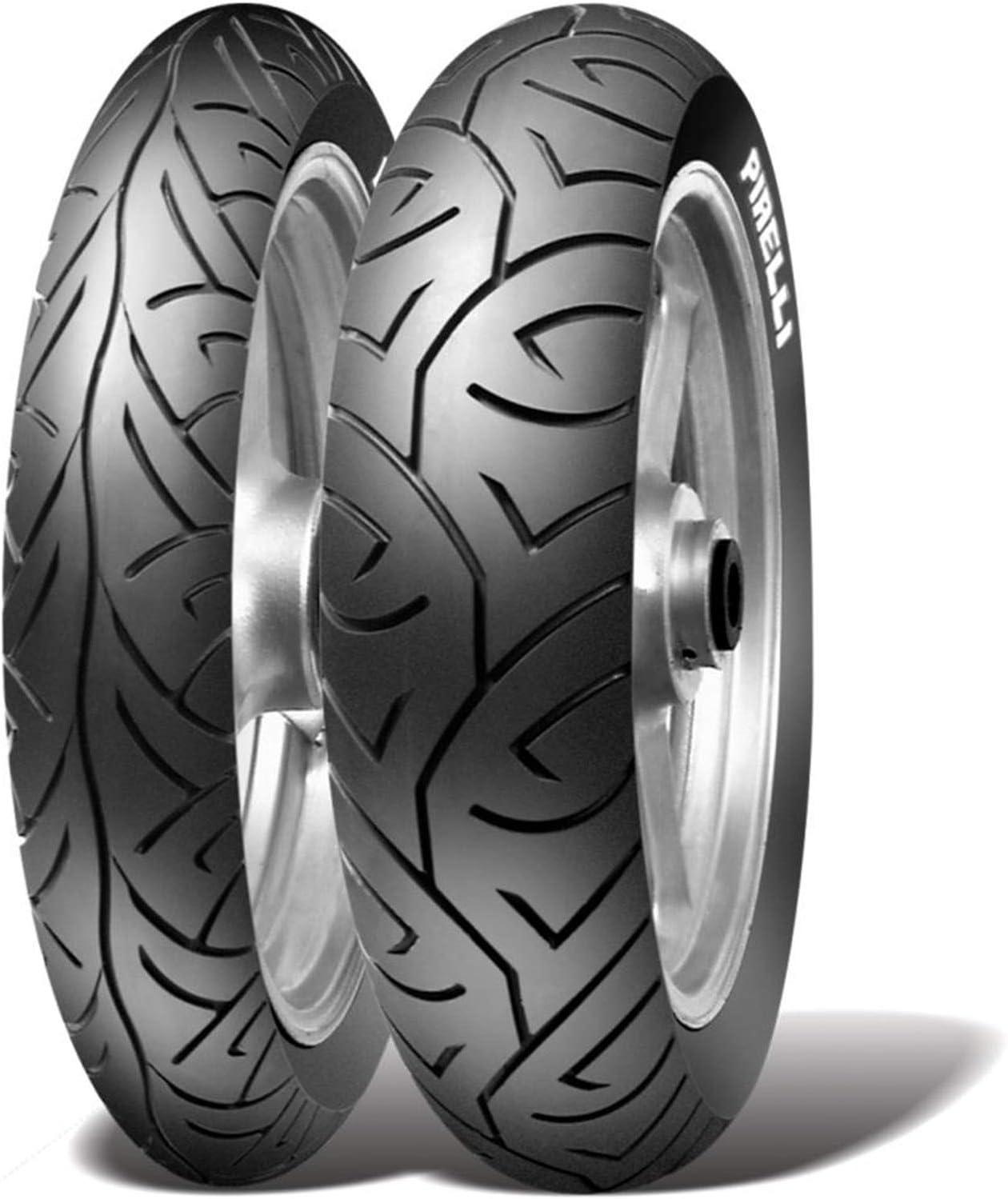 Paire de pneus Sport Demon 100//90-19 150//80 16 Moto Guzzi V9 Roamer 850