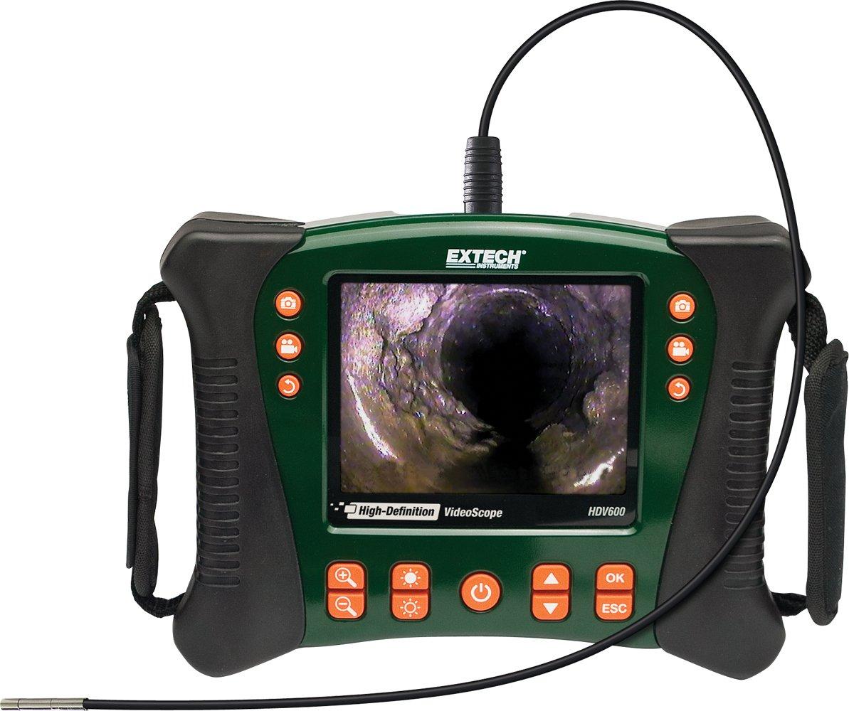 Extech HDV610 Videoscopio ad Alta Definizione con Diametro da 5.5 mm e 1 M di Cavo Flessibile EXTECHHDV610