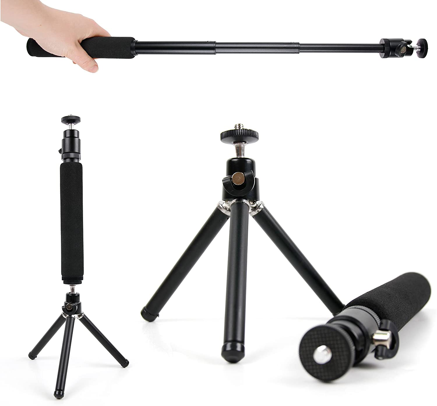 Lomo/'Instant Wide Camera Compatible with The Lomography Lomo Diana Mini DURAGADGET Lightweight 2-in-1 Tripod//Monopod