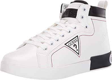 Almond Logo High-Top Sneakers: Amazon