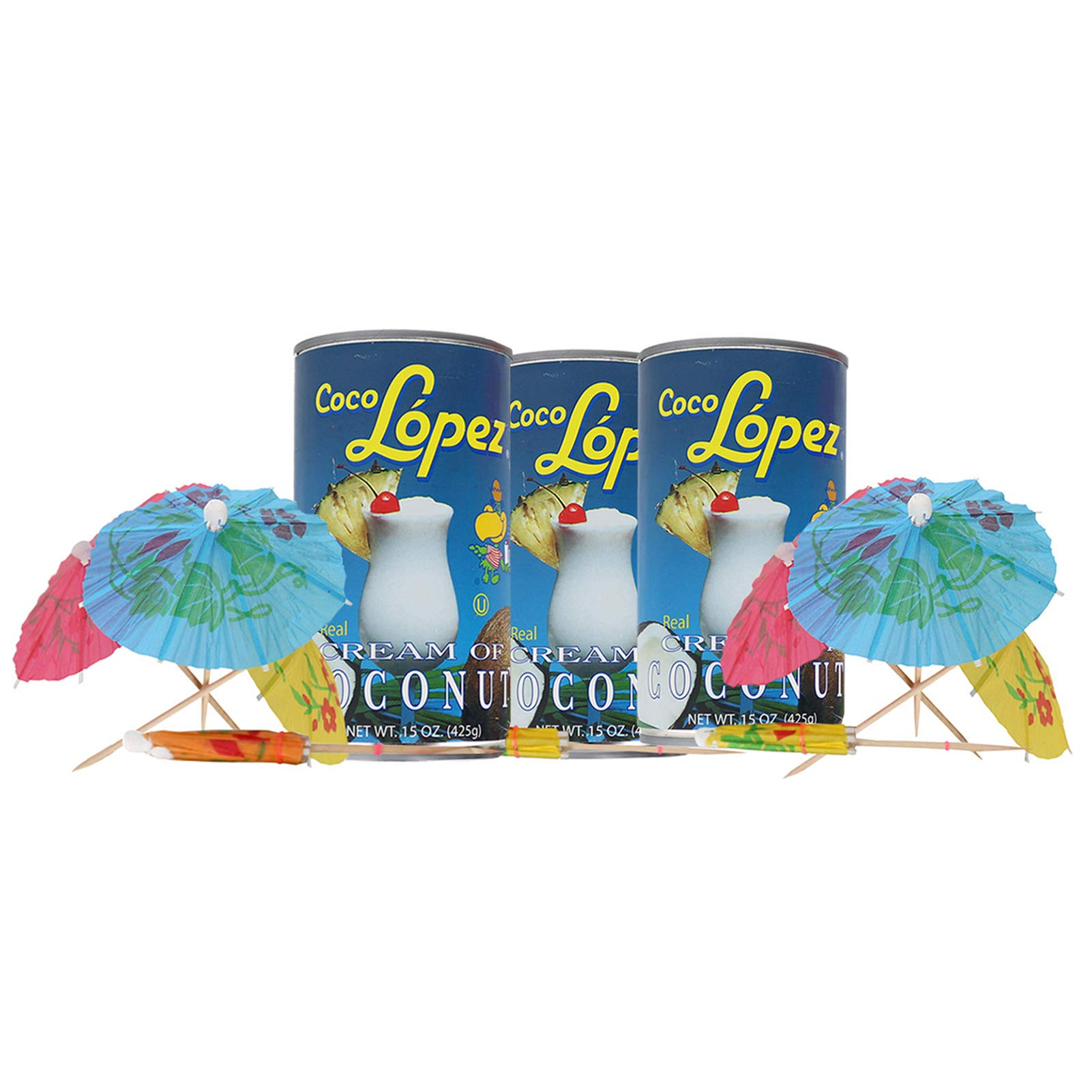 Coco Lopez - Real Cream of Coconut - 15 Ounce Can - Original Fresh Authentic Coconut Cream (Pack Of 3) by Coco Lopez (Image #5)