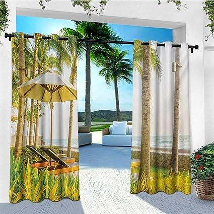 Amazon.com: leinuoyi conchas de mar, ojal de cortina para ...
