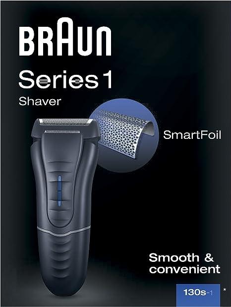 Braun - Afeitadora Series 1 130: Amazon.es: Salud y cuidado personal
