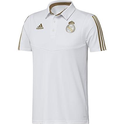 on sale 64f2e 47831 Amazon.com : adidas 2019-2020 Real Madrid Polo Football ...
