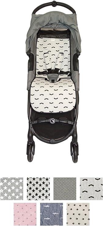 Fundas BCN ® - F160/9099 - Colchoneta Para Silla de Paseo BabyJogger ® Citymini Zip ® - Baby Bat: Amazon.es: Bebé