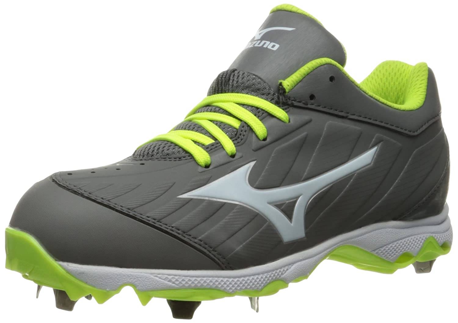Mizuno Women's 9-Spike Advanced Sweep 3 Softball Shoe B01HQE2LXQ 9 W US|Grey/White