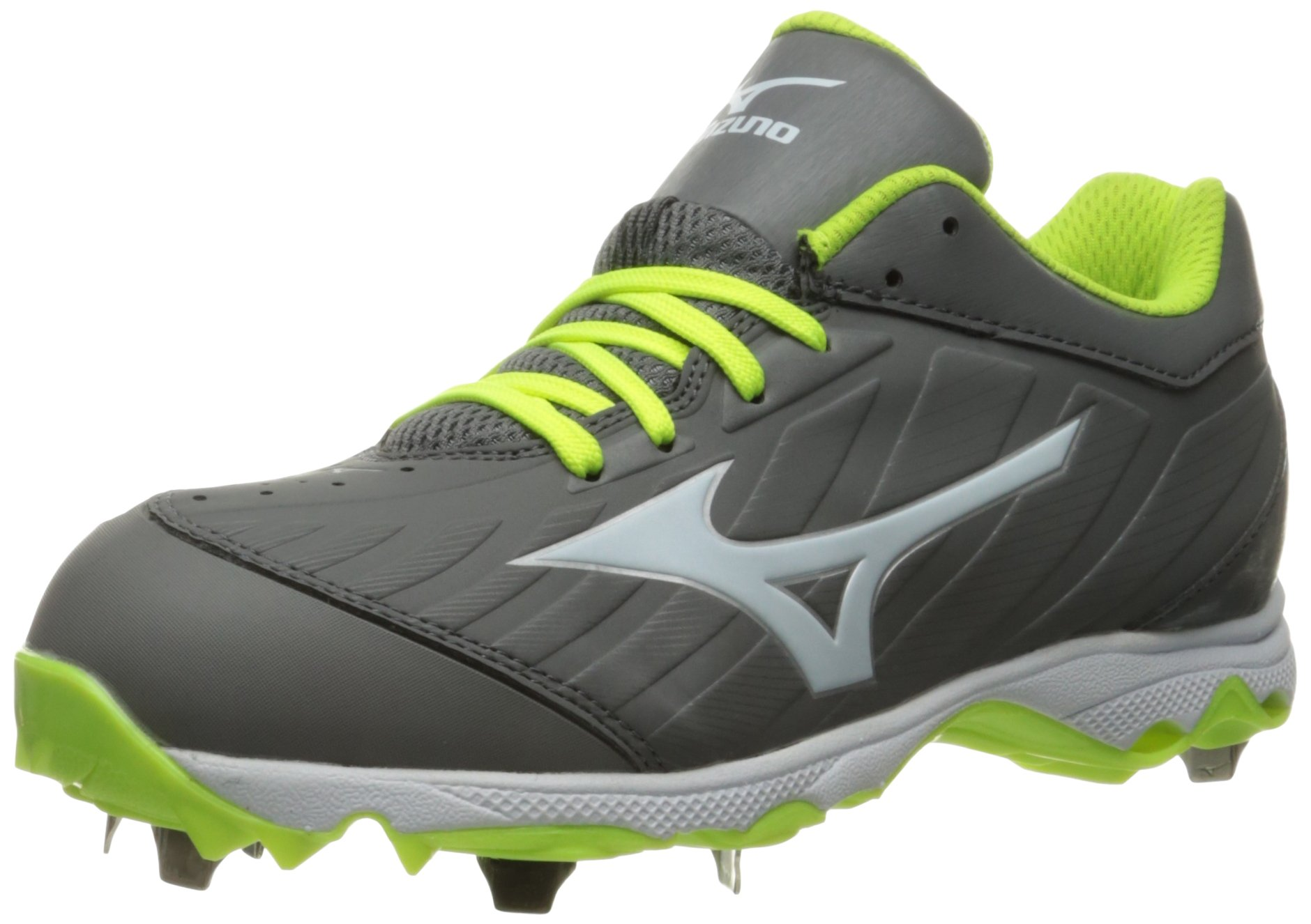 Mizuno Women's 9-Spike Advanced Sweep 3 Softball Shoe, Grey/White, 7 D US by Mizuno