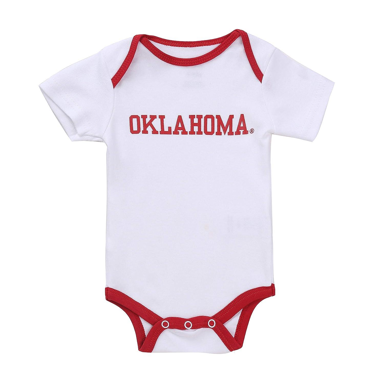 NCAA Oklahoma Sooners 2 pcs Baby Bodysuits