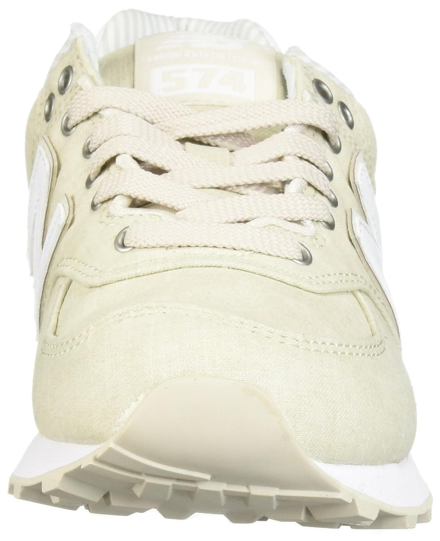 New Balance Balance New Damen Wl574v2 Sneaker Moonbeam c571a3