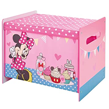 WA Disney Minnie Maus Spielzeugkiste Spielebox Stoffkiste ...