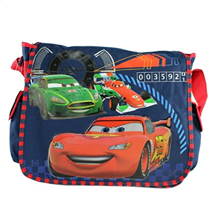 9abadc7cd978 Image Unavailable. Image not available for. Color  Disney Pixar Cars Elite  Racers Large Messenger Bag-Tote-School