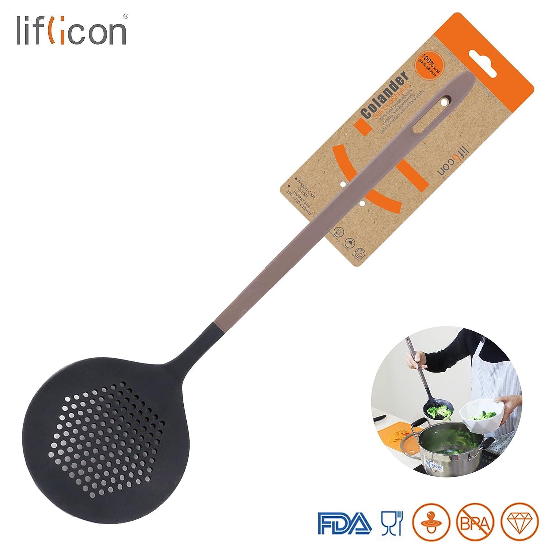 Amazon.com: Liflicon Cook Premium Silicone Round Spider Colander ...