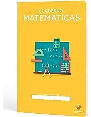 Cuadernos Camaleón A4 Grapa, cuadrícula 4x4, 48 Hojas, diseño Matemáticas
