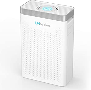 UNbeaten Air Purifiers with True HEPA Air Filters, Reduce Dust, Smoke, Air Purifiers for Large Room for Spaces Up to 560 Sq Ft, Perfect for Home/Office/Bedroom