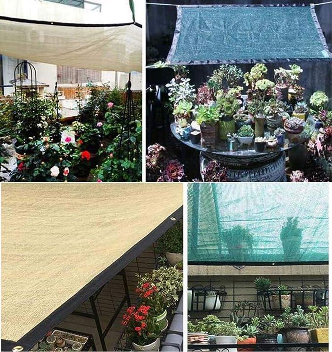 Sunscreen net Protector Solar Red de Sombra Verde de Polietileno ...