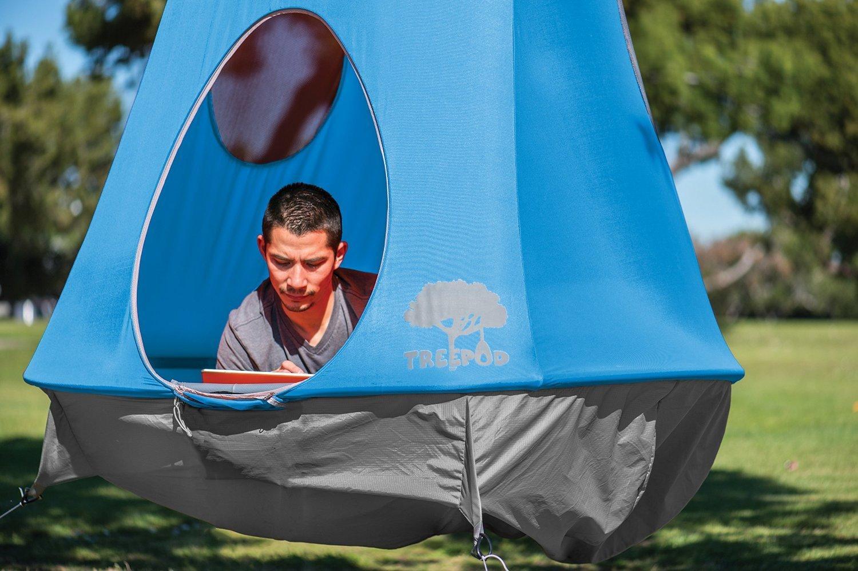 treepod hanging tent