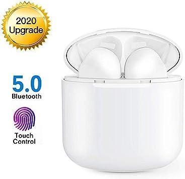 Auriculares Inalámblicos Bluetooth 5.0 Cascos, Mini TWS Sin Cable ...