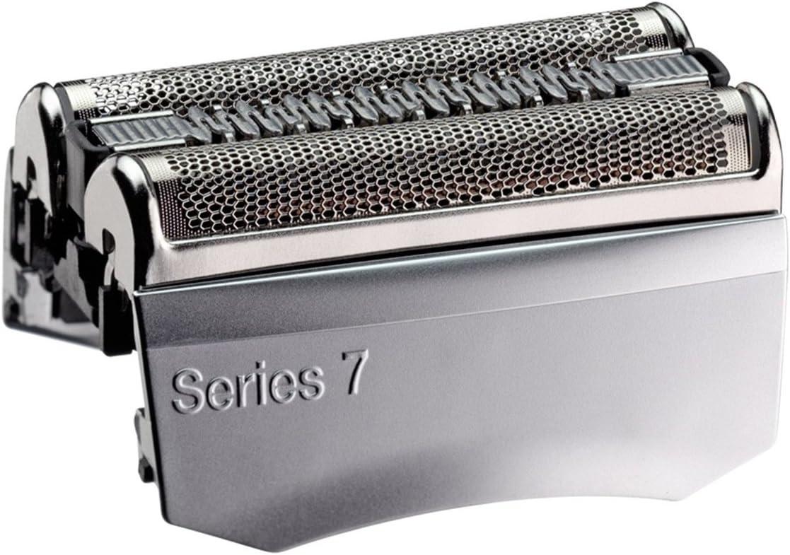 Braun 70S Serie 7 - Cabezal de Recambio para 720, 730, 760cc, 765cc, 789cc 790cc, 795cc, 797cc, 799, 9565, 9566, 9585, 9595, 9781, 9782, 9785, 9795 Shaver Brush + HeroFiber: Amazon.es: Electrónica
