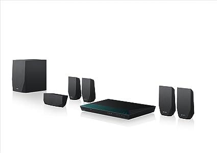 Sony Bdv E2100 5 1 Blu Ray Heimkinosystem 1000 Watt 3d W Lan Smart Tv Bluetooth Nfc Schwarz