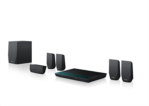 182 opinioni per Sony BDV-E2100 Sistema Home Cinema 5.1 Canali, Potenza 1000W, Lettore Blu-Ray