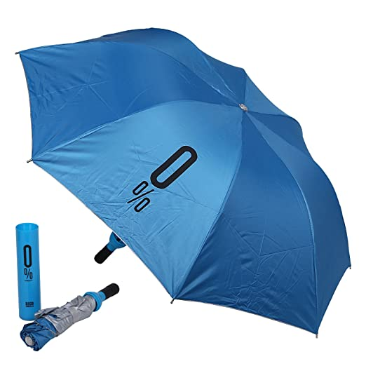 Style Homez Fashionable Wine Bottle Blue 110 cm Travel Umbrella