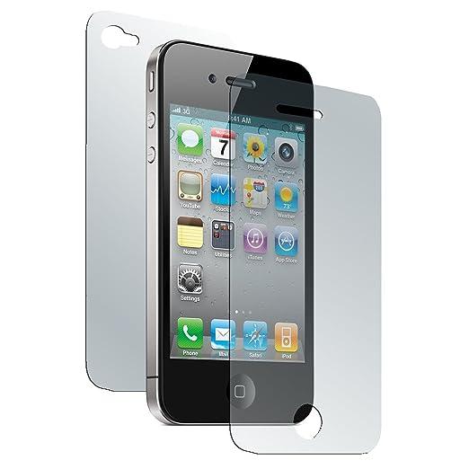 26 opinioni per 8 x Apple iPhone 4S Pellicola Protettiva antiriflesso Fullbody- PhoneNatic