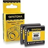 2x Batteria Olympus Li-50b | Pentax D-Li92 per Olympus mju 1010 | 1020 | 1030 SW | 9000 | 9010 | Tough-6000 | Tough-6010 | Tough-8000 | Tough-8010 etc... Pentax Optio X70 | I-10 | RZ10 | RZ18 | WG1 GPS | WG2 GPS | WG3 GPS | WG10