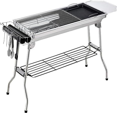 Gifort Barbecue Pliant Portable, Grill Barbecue à Charbon de