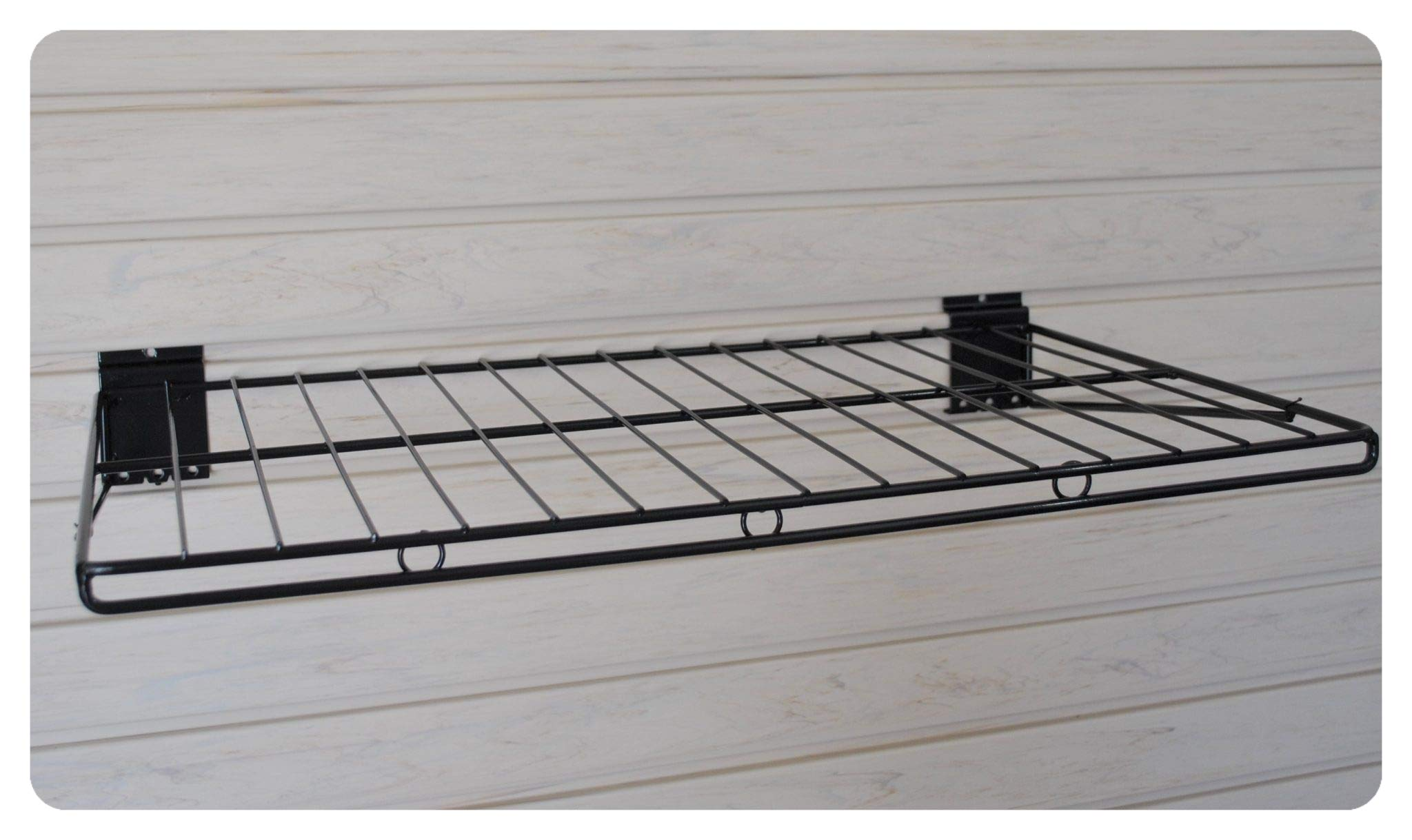 GaragePro 14'' x 24'' Ventilated Shelf for Slatwall Panels by The Garage Project