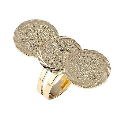 Arabischen Antike Münze Ring Mitte Eastern Jewelry Geld Muslim Islam